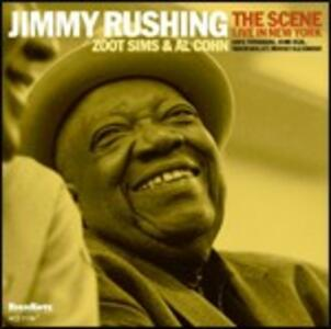 The Scene. Live in New York - CD Audio di Jimmy Rushing
