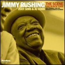 The Scene. Live in New York (feat. Al Cohn, Zoot Sims) - CD Audio di Jimmy Rushing