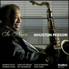 So Nice - CD Audio di Houston Person