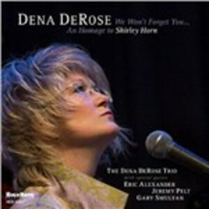 We Won't Forget You - CD Audio di Dena Derose