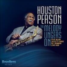 The Melody Lingers on - CD Audio di Houston Person