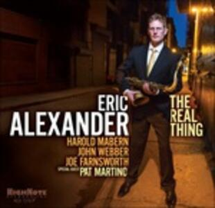 The Real Thing - CD Audio di Eric Alexander