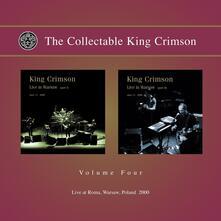 Collecatble vol.4 Live at Roma, Warsaw Poland, 2000 - CD Audio di King Crimson