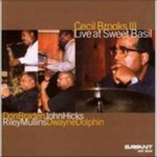 Live at Sweet Basil - CD Audio di Cecil Brooks III