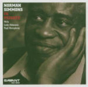 In Private - CD Audio di Norman Simmons