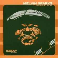 It is what it is - CD Audio di Melvin Sparks