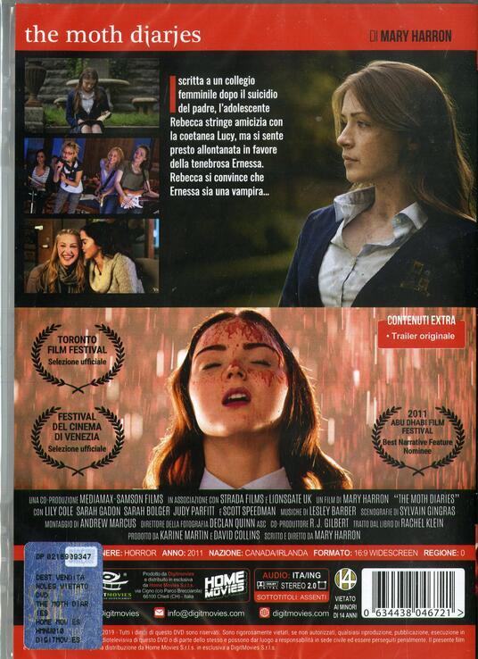 The Moth Diaries  (DVD) di Mary Harron - DVD - 2