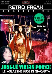Jungle Virgin Force. Le assassine nude di Giacarta (DVD) di Danu Umbara - DVD