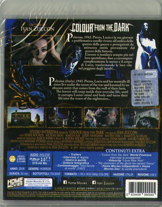 Colour From the Dark (Blu-ray) di Ivan Zuccon - Blu-ray - 2
