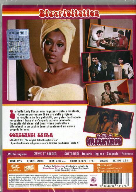 Lady Cocoa (DVD) di Matt Cimber - DVD - 2