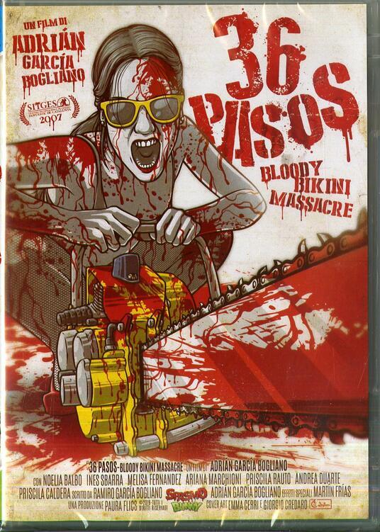 Bloody Bikini Massacre. 36 Pasos (DVD) di Adrian Garcia Bogliano - DVD