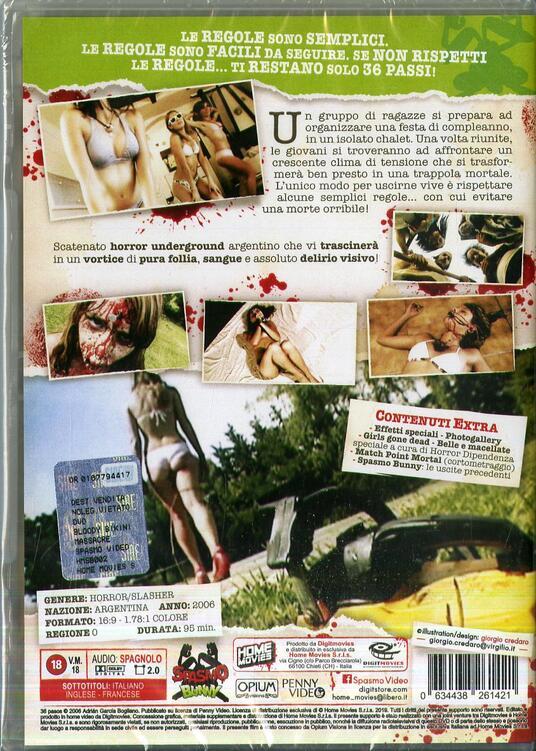 Bloody Bikini Massacre. 36 Pasos (DVD) di Adrian Garcia Bogliano - DVD - 2