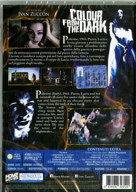 Colour From the Dark (DVD) di Ivan Zuccon - DVD - 2