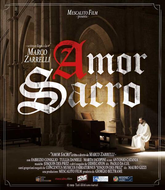 Amor sacro (Blu-ray) di Marco Zarrelli - Blu-ray