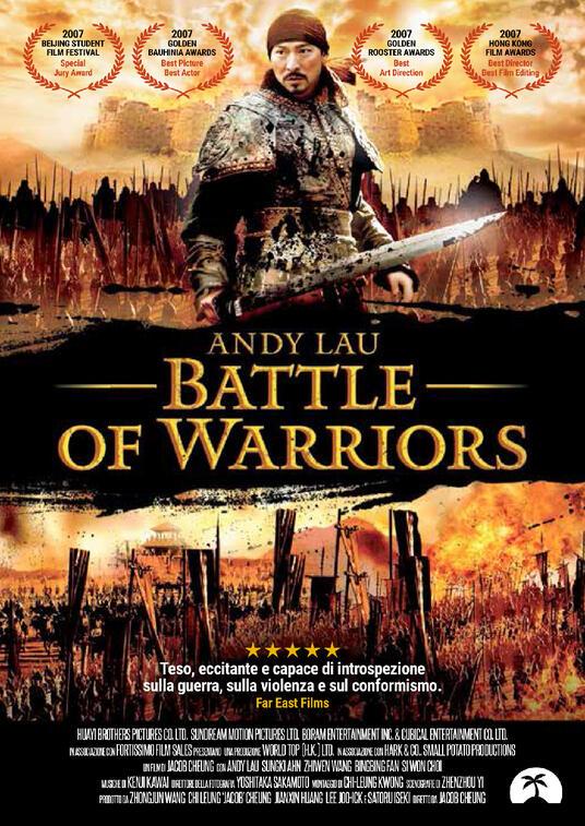Battle of Warriors (DVD) di Jacob Cheung - DVD
