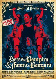 Sete da vampira - Fame da vampira (DVD) di Roger A. Fratter,Davide Pesca - DVD