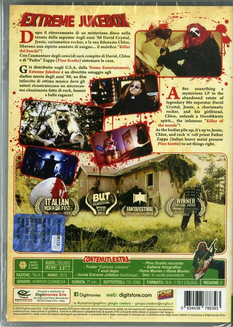 Extreme Jukebox (DVD) di Alberto Bogo - DVD - 2