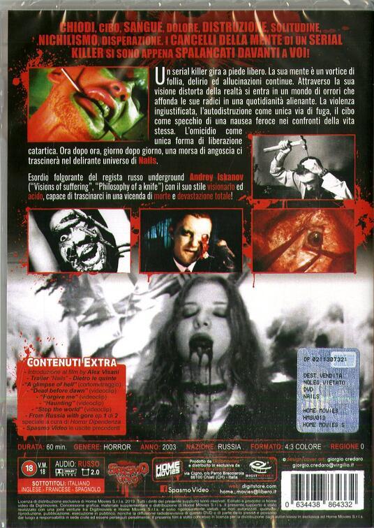 Nails (DVD) di Andrey Iskanov - DVD - 2