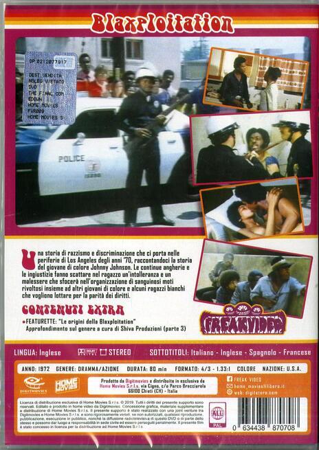 The Final Comedown (DVD) di Oscar Williams - DVD - 2