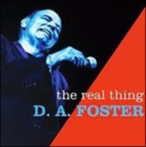 The Real Thing - Vinile LP di D.A. Foster