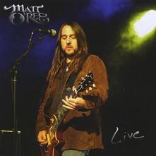 Live - CD Audio + DVD di Matt O'Ree