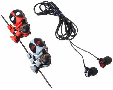Marvel. X-Force Deadpool Scalers And Earbuds Set