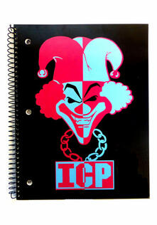 Insane Clown Posse. Joker-unisex. O/s. Journal. Accessories. Multi-coloured -