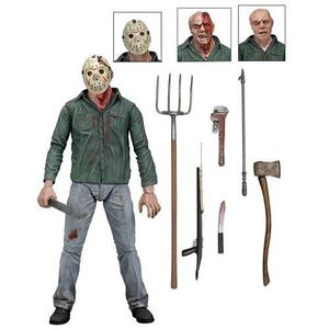 Action Figure Neca Friday The 13Th Scale Ultimate Part 3 Jason, 7 By Neca