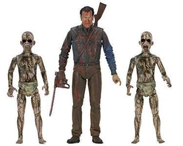 Action Figure Ash Vs Evil Dead 7 Figures Bloody Ash Vs Demon Spawn By Ash Vs Evil Dead - 2