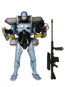 Robocop. W/Jetpack & Assault Canon Action Figure