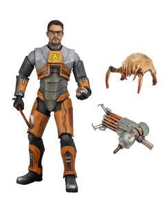 Action Figure Half Life Gordon Freeman