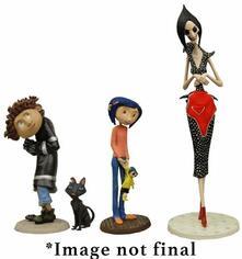 Coraline: Coraline 4 Piece Pvc Figurines Set