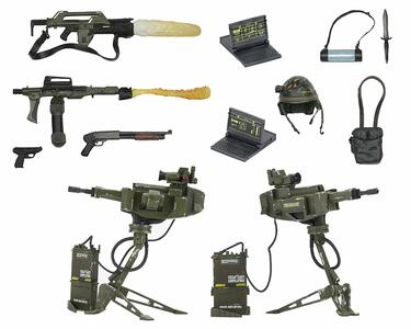 Aliens: Accessory Pack. Uscm Arsenal Weapons Pack - 2