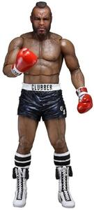 Action Figure Neca Rocky Iii Clubber Lang Black Pant, - 2
