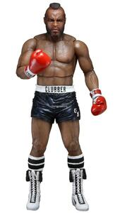Action Figure Neca Rocky Iii Clubber Lang Black Pant, - 3