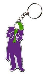 Dc Comics: Dark Knight Movie Keychain Joker Color