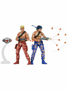 Action Figure. Contra Video Game Appearance