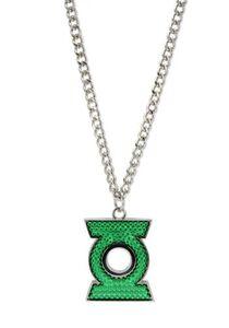 Idee regalo Collana Green Lantern. Pave Green Lantern (Lanterna Verde) CID