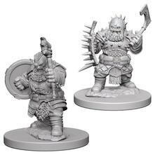 Pathfinder Dcum Dwarf Male Barbarian