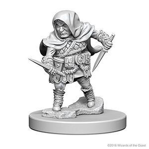 D&D. Nolzur's Marvelous Miniatures. Halfling Male Rogue