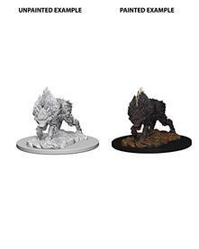 Pathfinder. Deep Cuts Miniatures. Dire Wolf