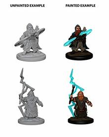 Pathfinder. Deep Cuts Miniatures. Dwarf Male Sorcerer
