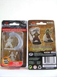 D&D. Nolzur's Marvelous Miniatures. Water Genasi Male Druid