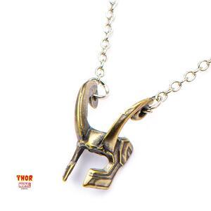 Collana Thor. Loki Helmet Metal