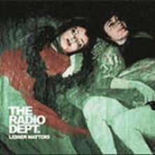 Lesser Matters - CD Audio di Radio Dept