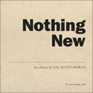 Nothing New - Vinile LP + DVD di Gil Scott-Heron