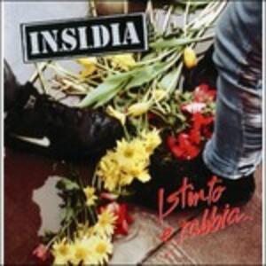 Istinto e rabbia - Vinile LP di In.Si.Dia