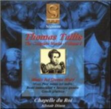 Integrale della musica vol.3 - CD Audio di Thomas Tallis