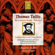Integrale della musica vol.8 - CD Audio di Thomas Tallis