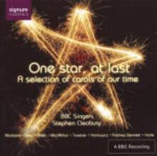 One Star at Last. Carole natalizie inglesi - CD Audio di Stephen Cleobury,BBC Singers